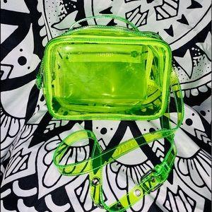 Neon clear Bag